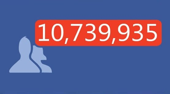 Facebook Friend Requests Amount