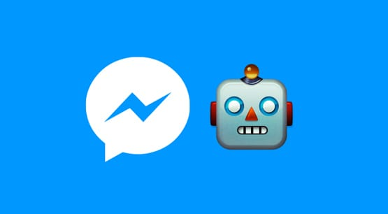 Facebook Chat Bot Illustration
