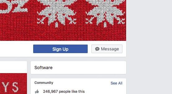 Send a Message Facebook
