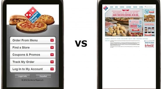 Mobile Optimized Site Versus Non Optimized