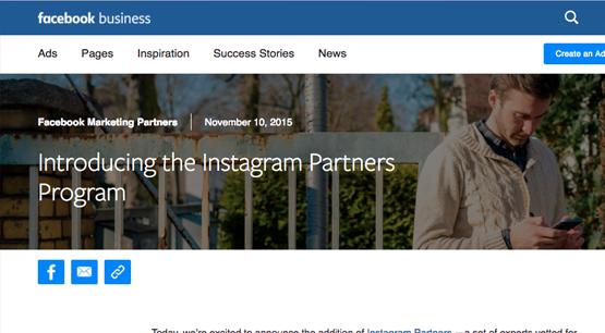 Instagram Partners Program