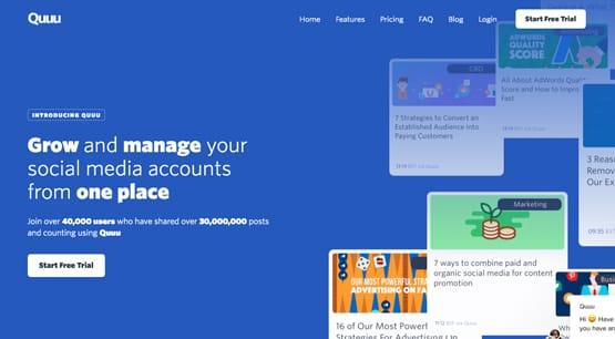 Quoo Manage Accounts