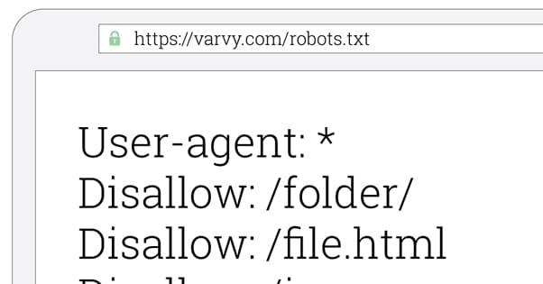 Robots.txt Block