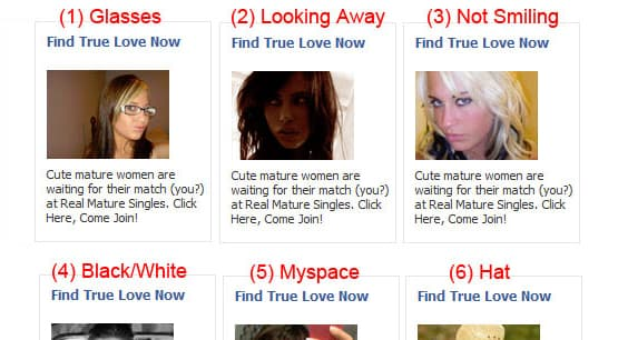 Dating Ad Example