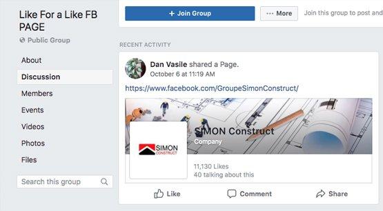 Public Group Page
