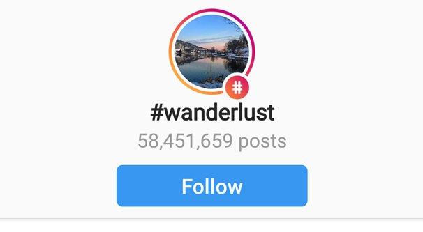Example Instagram Hashtag