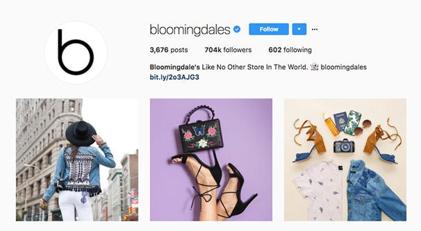 Fashion Brand on Instagram