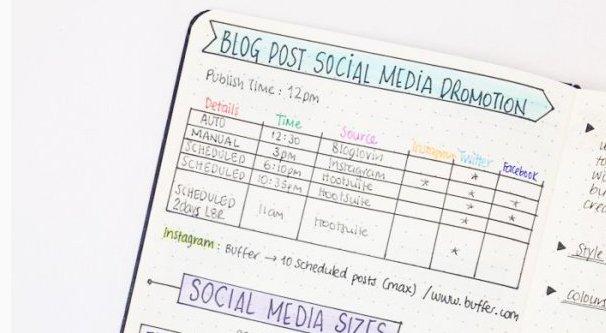 Instagram Notepad Post Ideas