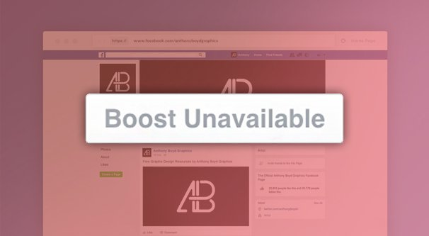 Boost Unavailable Illustration