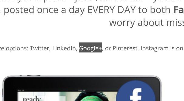 Google Plus Mentioned